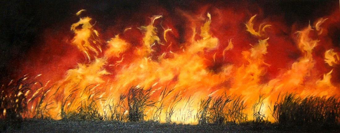 Banner - Fire